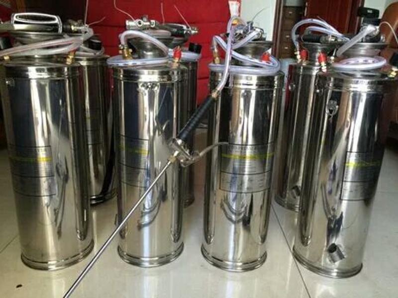 10L加**档加固养兰花不锈钢喷药打药浇水消毒园艺农用喷雾器