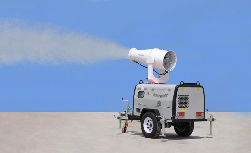 雾炮. 路得威 高能雾炮 超远射程雾炮