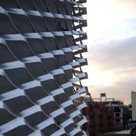 建筑铝板网 装饰铝板网 幕墙装饰铝板网