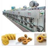 供应全自动隧道式饼干燃气烤炉 蛋糕燃气烤箱  面包隧道烤炉