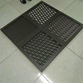 菱形钢板网 金属板网 菱形拉伸网