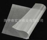 厂家供应环保防尘防雨30丝厚PVC透明布网格布100米1卷