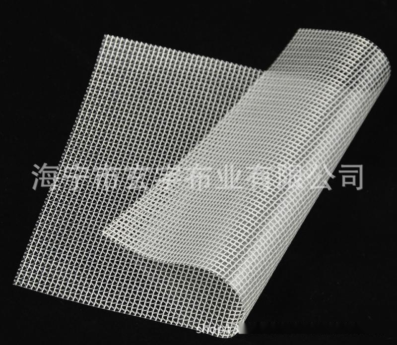 廠家供應環保防塵防雨30絲厚PVC透明佈網格布100米1卷