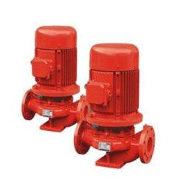 边立式单级消防泵