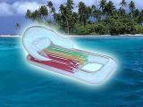 充气浮排水上浮床折叠椅