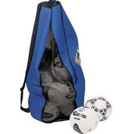 惠州手袋厂专业定制24个装足球网袋 牛津布背包