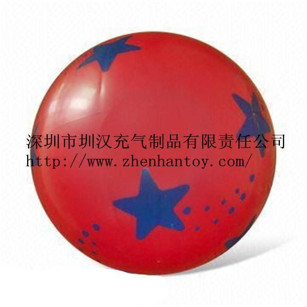 厂家直销,可定制环保PVC充气沙滩球