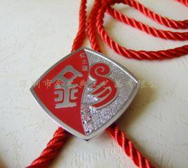 深圳厂家订制金属挂链式徽章