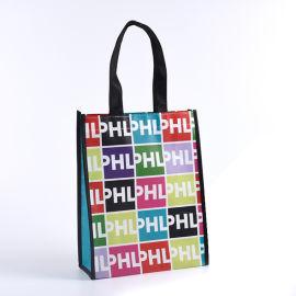 外贸logo无纺布袋覆膜袋礼品赠品袋购物袋定做