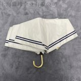 防紫外線女士摺疊傘,摺疊式彎柄傘,透明彎手柄摺疊遮陽傘
