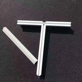 供应铝合龙骨平面 T型双面烤漆龙骨 吊顶龙骨