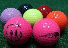 各种高尔夫球