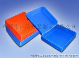 中空板厂家 深圳防静电中空板周转箱+防静电刀卡组合周转箱