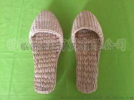 热销原生态**手工编织保健按摩酒店宾馆专用蒲草草鞋