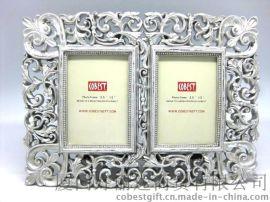 欧式相框仿古式框架 树脂古典相框 卧室装饰 相框批发