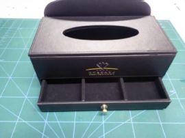 多功能收纳盒,桌面,办公家用**杂物盒**皮革创意工具盒,