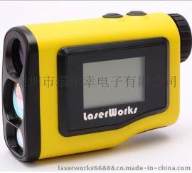 厂家直销  laserworks 手持激光测距仪 高精度室外电子尺  测高 测角仪 激光测距望远镜 量大从优
