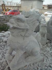 供应石雕花岗岩石狮子 石雕貔貅厂家