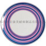 PT020 10寸美耐皿贴花圆盘