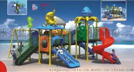 儿童组合滑梯,儿童游乐设施,户外大型玩具