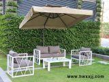 戶外鋁合金沙發現代簡約白沙發組合休閒座椅馨寧居休閒傢俱