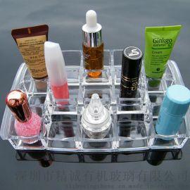 透明亚克力化妆品收纳盒 护肤品 药品收纳盒 有机玻璃首饰收纳盒