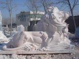 石狮子,汉白玉狮子雕塑
