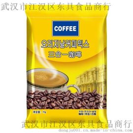 武汉东具厂家直销批发现调饮料机投币咖啡机速溶咖啡机用东具三合一咖啡速溶咖啡粉