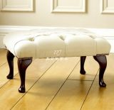 美若婳家具s36美式新古典换鞋凳沙发凳皮凳子服装店沙发墩凳试鞋凳小凳子矮凳脚凳