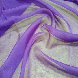 桑蚕丝 染色丝绸  6姆米真丝雪纺