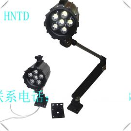 HNTD防水防油24V220VLED短臂灯折叠机械照明铣/机/车床工作灯