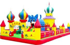 60平方蓝猫乐园 卡通充气城堡 大型充气玩具价格