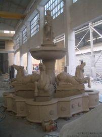 小区喷泉,石雕喷泉,大理石喷泉