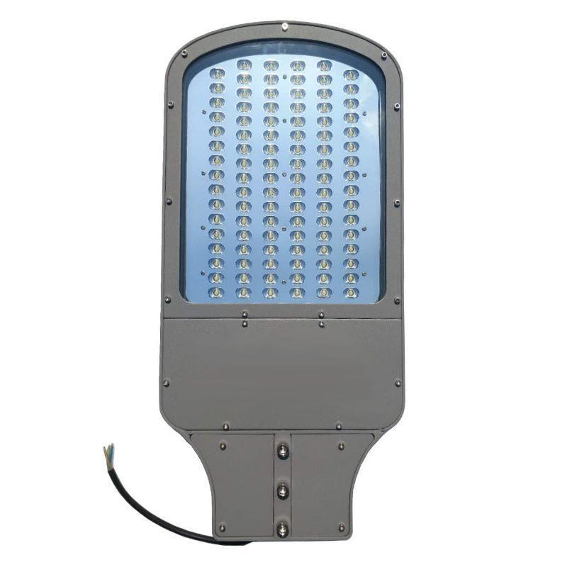 led搓衣板路燈外殼80w100w單顆壓鑄路燈套件戶外照明燈具外殼