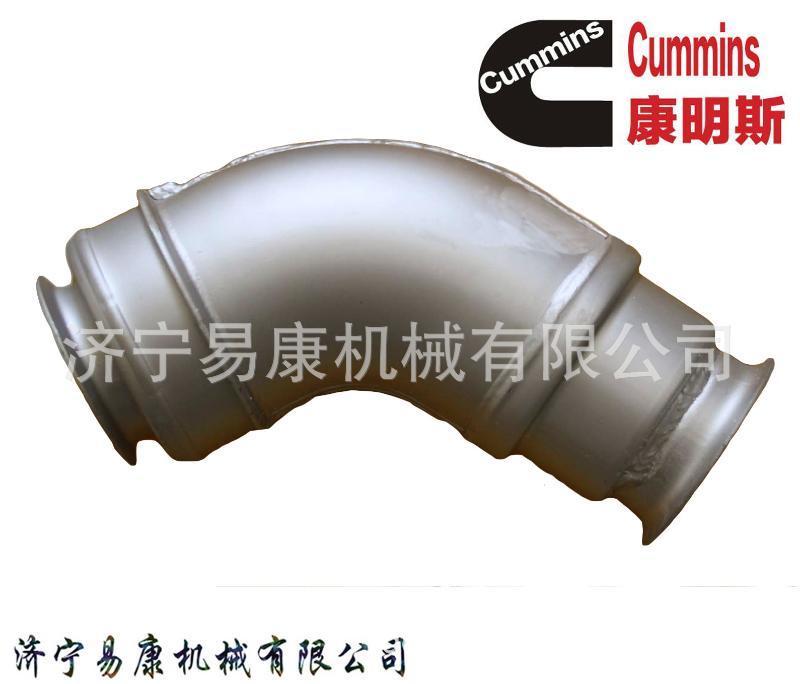 康明斯QSX12排氣管 發動機增壓器安裝