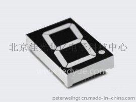 1.5英寸单一1位led数码管共阳共阴黄绿光15011A/B