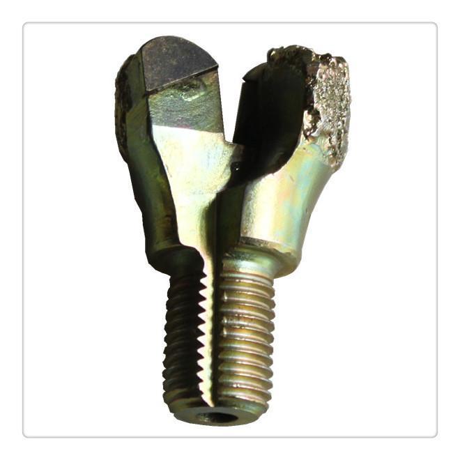 金刚石电镀、金刚石复合片一体锚杆钻头