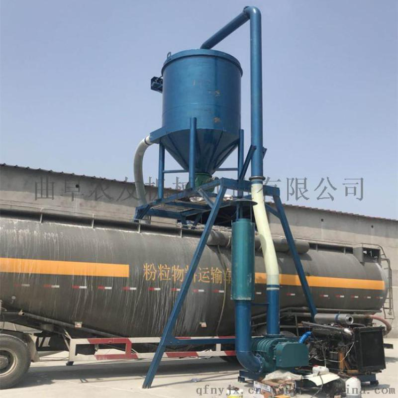 直销水泥粉自吸式输送机 无尘装车气力输送机