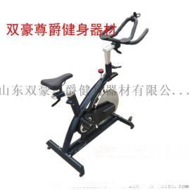 健身房有氧健身器材商用动感单车电镀精钢大飞轮