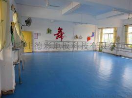 江蘇德彩塑膠地板 舞蹈室專用塑膠地板