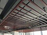 外牆戶外木紋鋁方通 工裝造型仿木紋四方管