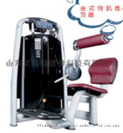 商用健身器械坐式背肌练习器