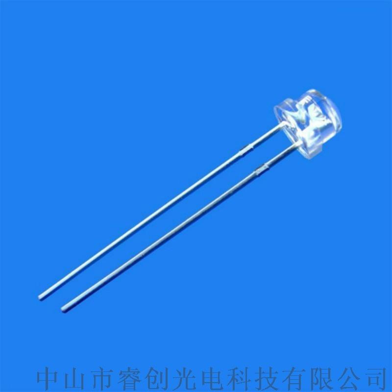 草帽LED发光二极管 草帽发光二极管厂家 4.8mm草帽发光二极管