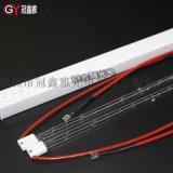1KW近紅外線加熱燈 350Y塑料焊接機IR燈 PETP鹵素透明加熱燈