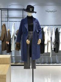 阿尔巴卡羊剪绒大衣女装品牌折扣批发