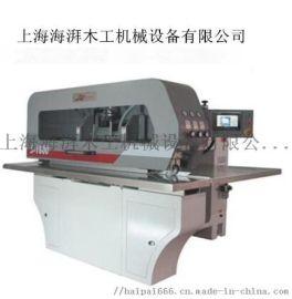 苏州供应台湾履带式无线木皮纵拼机