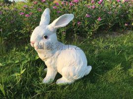 大型玻璃钢雕塑 卡通兔子 写实雕塑 可定制