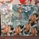 广州5D玻璃背景墙uv打印机能否打印浮雕