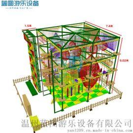兒童拓展設備廠家直銷 體能探險樂園設施定製