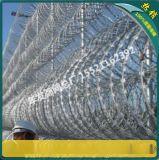 监狱刀片刺圈 热镀锌刀片刺绳 BTO-22不锈钢刀片刺线滚笼价格